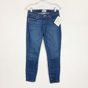 PAIGE | verdugo crop skinny ankle jeans size 28